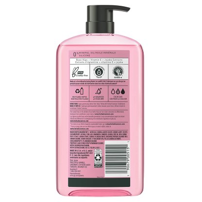 Herbal Essences | 草本精華Smooth Collection 無矽靈洗髮精 玫瑰 865ml
