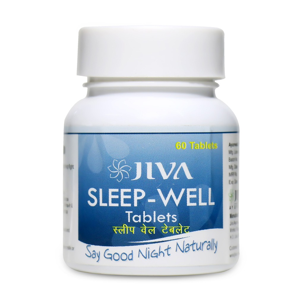JIVA Sleep - Well Tablets  IMAGES, GIF, ANIMATED GIF, WALLPAPER, STICKER FOR WHATSAPP & FACEBOOK