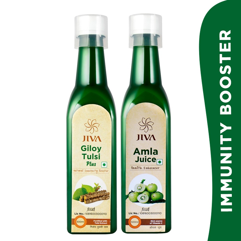 JIVA Giloy Tulsi & Amla Juice  IMAGES, GIF, ANIMATED GIF, WALLPAPER, STICKER FOR WHATSAPP & FACEBOOK