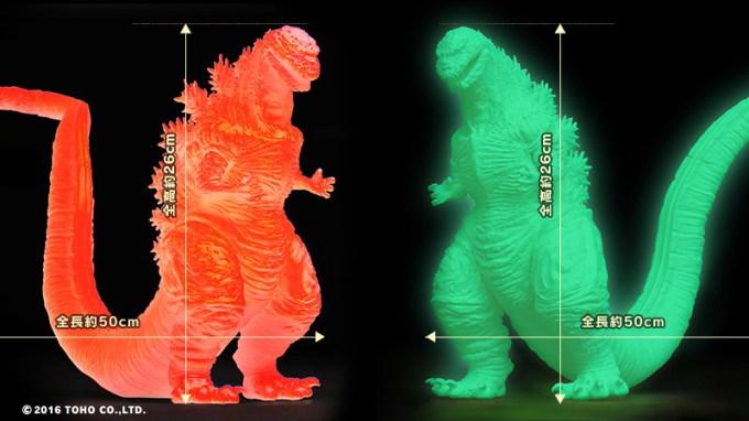 レッドクリアver.とグリーン蓄光ver.の2種類のバージョン
