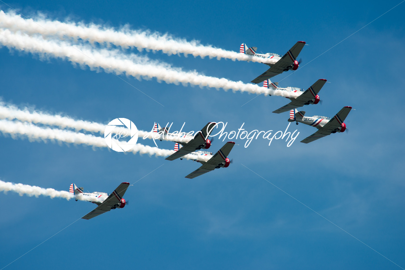 ATLANTIC CITY, NJ – AUGUST 17: Geicko Skytypers performing at the Annual Atlantic City Air Show on August 17, 2016 - Kelleher Photography Store