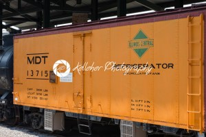 BALITMORE, MD – APRIL 15: MDT IC No.13715 Merchants Dispatch Transportation Illinois Central Railroad Refrigerator car on April 15, 2017 - Kelleher Photography Store