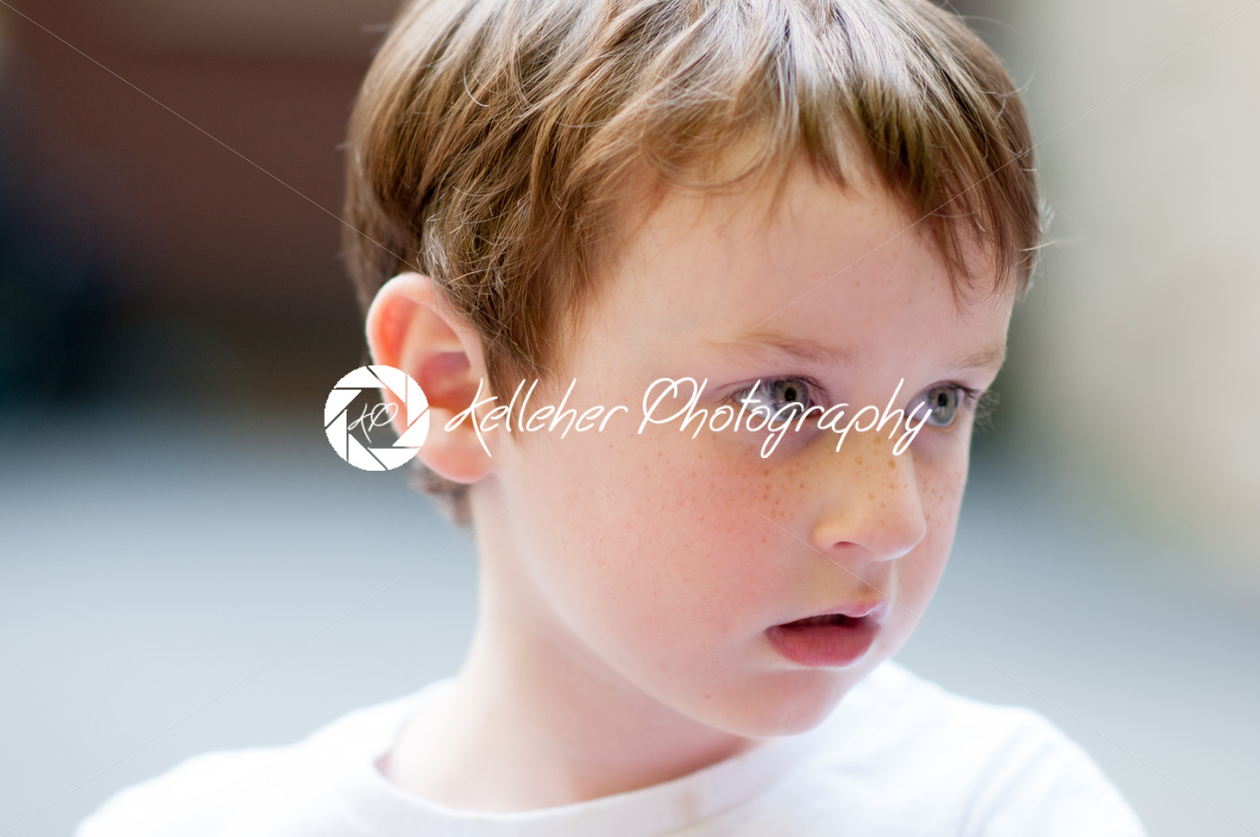 Portrait of young boy at sunset - Kelleher Photography Store