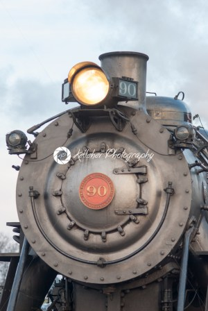 STRASBURG, PA – DECEMBER 15: Steam Locomotive in Strasburg, Pennsylvania on December 15, 2012 - Kelleher Photography Store