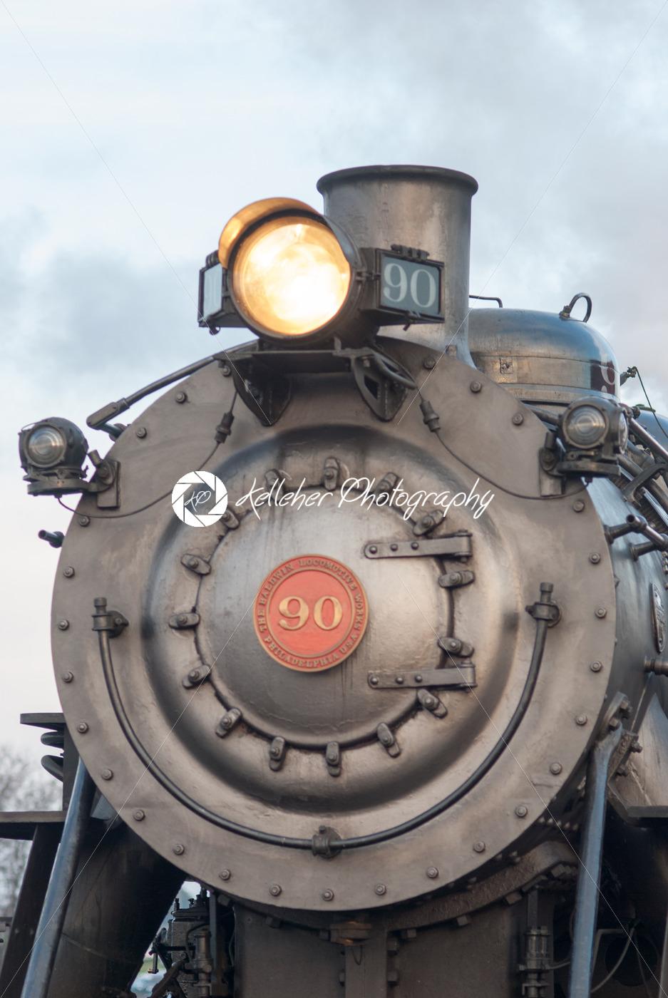 STRASBURG, PA – DECEMBER 15: Steam Locomotive in Strasburg, Pennsylvania on December 15, 2012 - Kelleher Photography Store