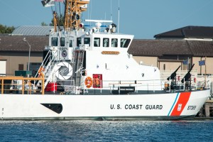 The U.S. Coast Guard Cutter Crocodile, located in Cape May Point, NJ - Kelleher Photography Store