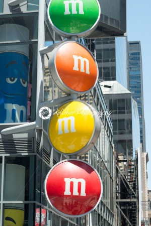 View of the MM Store located in Times Square, NYC, NY on June 18, 2016 - Kelleher Photography Store