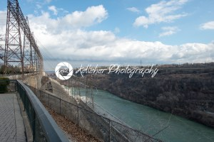 View of the Sir Adam Beck Hydroelectric Generating Stations seen from Ontario Canada. - Kelleher Photography Store