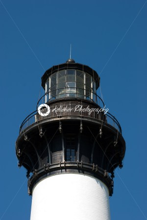 Historic Bodie Island Lighthouse at Cape Hatteras National Seashore on the Outer Banks of North Carolina. - Kelleher Photography Store