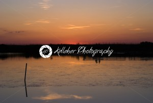Sunset near Currituck Lighthouse in Outer Banks North Carolina - Kelleher Photography Store