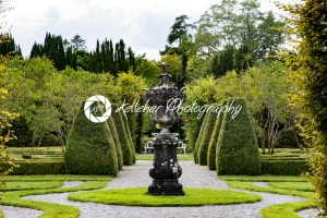 COUNTY OFFALY, IRELAND – AUGUST 23, 2017: Birr Castle Gardens in County Offaly, Ireland - Kelleher Photography Store