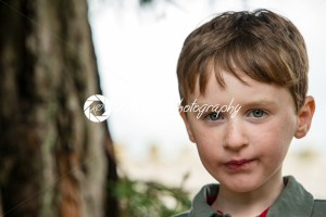 Young little boy portrait looking at camera - Kelleher Photography Store