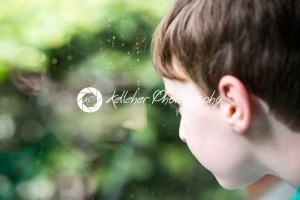 Young little boy portrait looking at something - Kelleher Photography Store