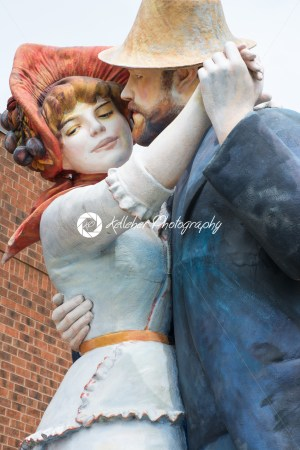 TRENTON, NJ – JUNE 17, 2017: Founded in 1992 by American artist Seward Johnson, Grounds for Sculpture is an outdoor sculpture park - Kelleher Photography Store