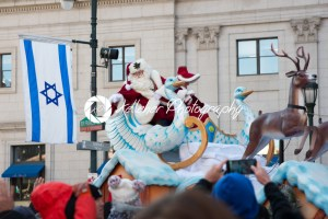 Philadelphia, PA – November 23, 2017: Santa Claus at Annual Thanksgiving Day Parade in Center City Philadelphia, PA - Kelleher Photography Store