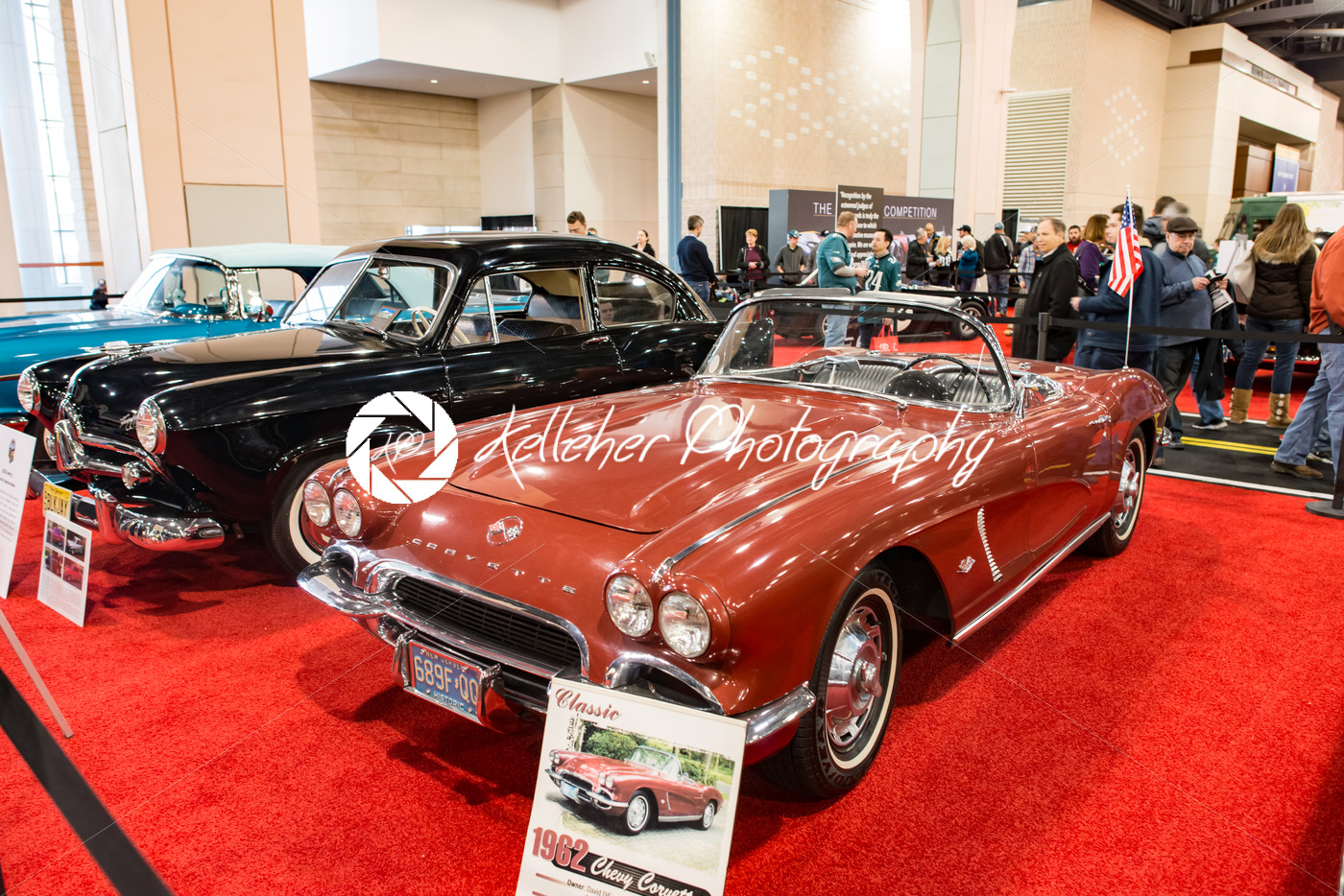 PHILADELPHIA, PA – Feb 3: 1962 Chevy Corvette at the 2018 Philadelphia Auto Show - Kelleher Photography Store