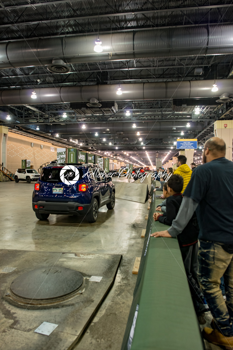 PHILADELPHIA, PA – Feb 3: People enjoying the Jeep experience 2018 Philadelphia Auto Show - Kelleher Photography Store