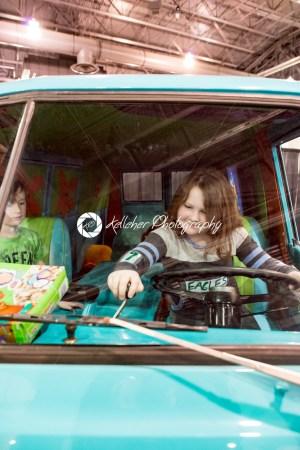 PHILADELPHIA, PA – Feb 3: Scooby Doo Mystery Time Machine Van at the 2018 Philadelphia Auto Show - Kelleher Photography Store