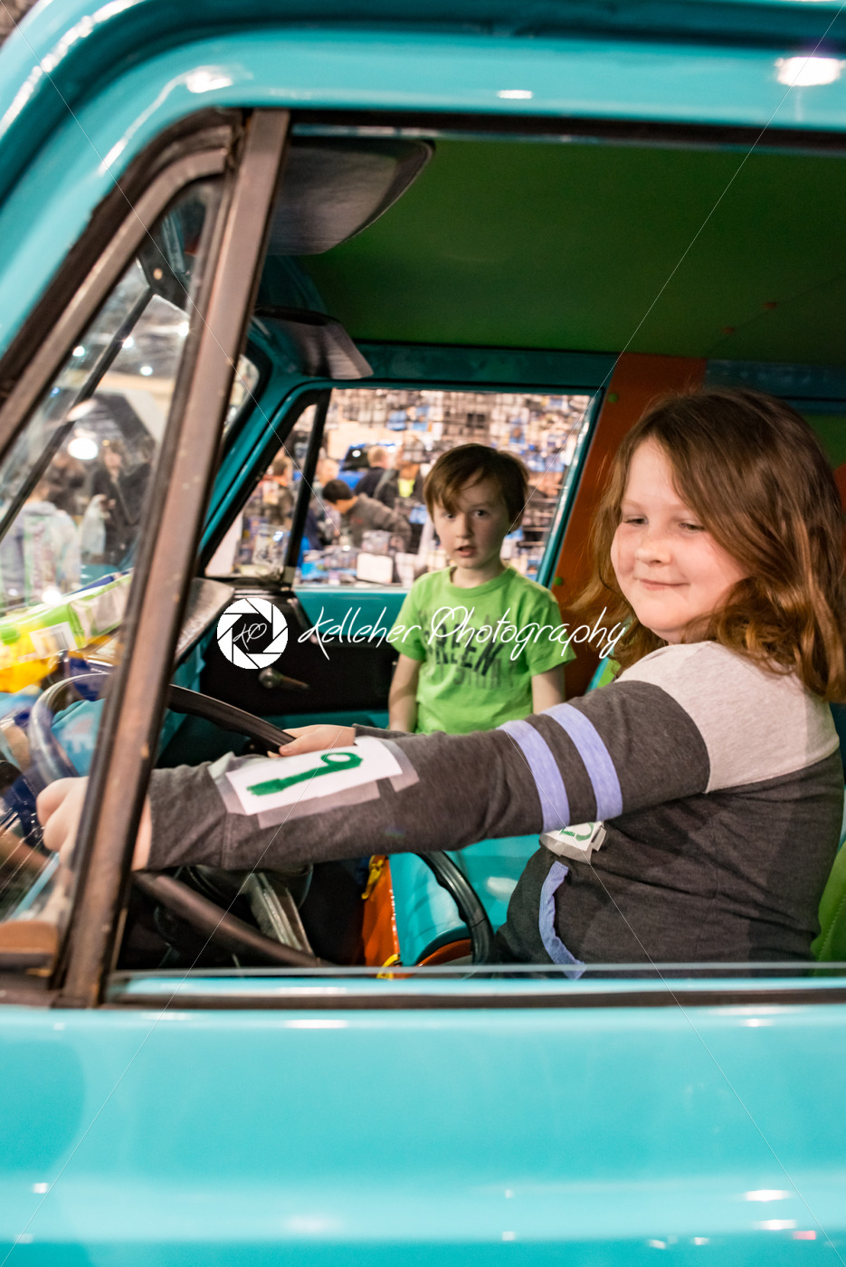 PHILADELPHIA, PA – Feb 3: Scooby Doo Mystery Time Machine Van at the 2018 Philadelphia Auto Show - Kelleher Photography Store