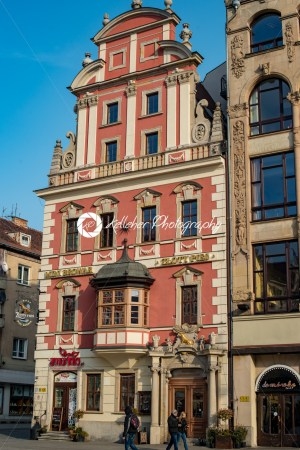 Wroclaw, Poland – March 4, 2018: Wroclaw Market Square in evening in historic capital of Silesia, Poland, Europe. - Kelleher Photography Store