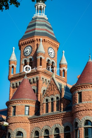Dallas, Texas – May 7, 2018: Old Red Museum, formerly Dallas County Courthouse in Dallas, Texas - Kelleher Photography Store