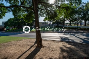 Dallas, Texas – May 7, 2018: The Dealy Plaza and its surrounding buildings in Downtown Dallas the location of the John F Kennedy assassination - Kelleher Photography Store