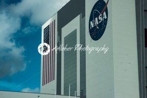 Cape Canaveral, Florida – August 13, 2018: Space Shuttle Hanger building at NASA Kennedy Space Center - Kelleher Photography Store