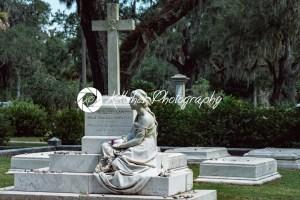 Corinne Elliott Lawton Cemetery Statuary Statue Bonaventure Cemetery Savannah Georgia - Kelleher Photography Store