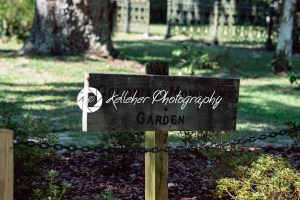 Sign for Colonial Monument Garden in Bonaventure Cemetery Savannah Georgia - Kelleher Photography Store