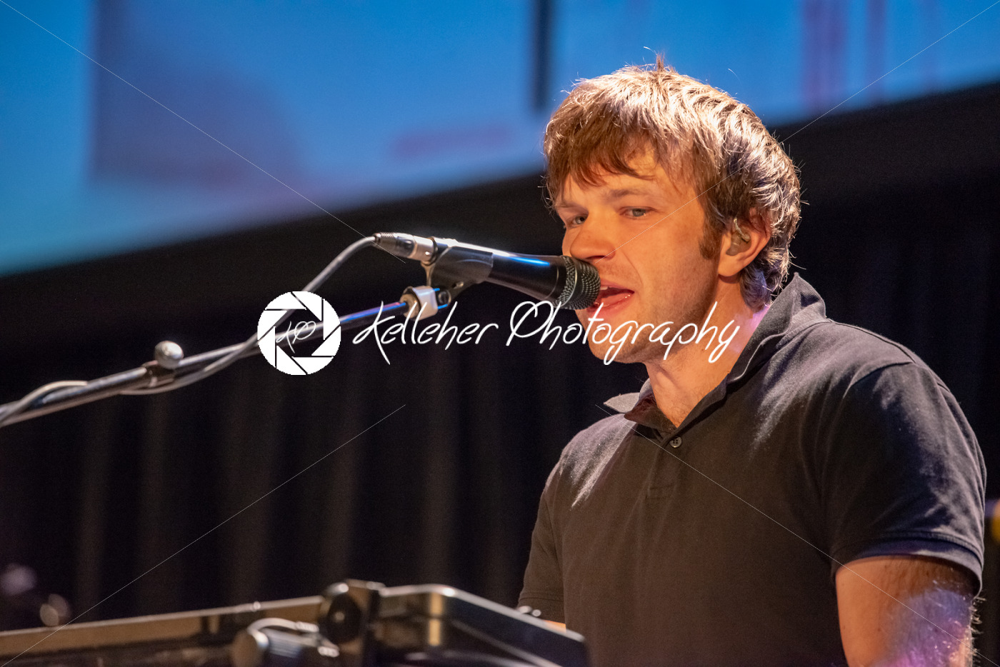 ITHACA, NY – NOVEMBER 4, 2018: Vocalist Andy Ross of the band OK Go performs on their Live Videos tour at the State Theatre of Ithaca - Kelleher Photography Store