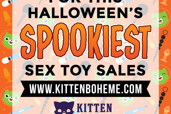 Halloween Sex Toy Sales by kittenboheme.com