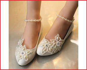 56bb00ee460c8 Bride's Wedding Shoes - Store.LoveVisaLife