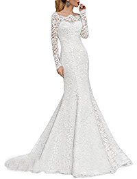 Mermaid Wedding Dress Amazon