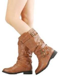 Women's Mid Calf Boots - Store.LoveVisaLife