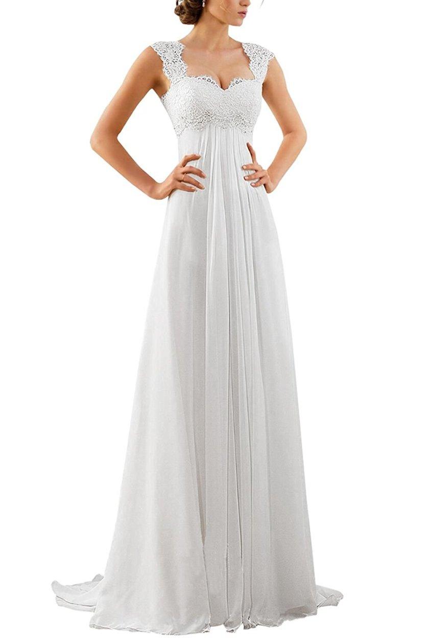 Empire Waist Wedding Dress Amazon - Store.LoveVisaLife