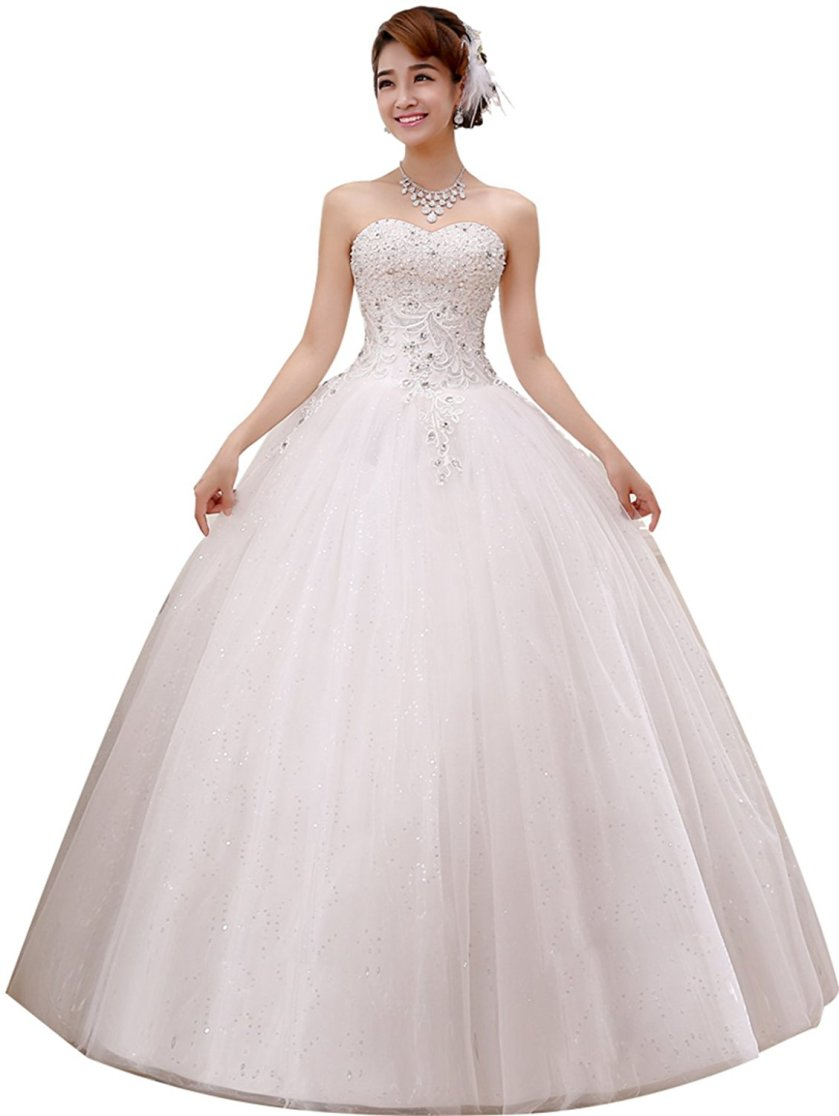 Ball Gown Wedding Dress Amazon