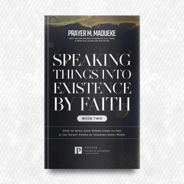 Speaking Things into Existence by Faith (Book 2) by Prayer M. Madueke