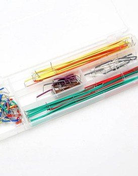 140pcs-Solderless-Breadboard-Jumper-Cable-Wire-Kit-Box-Shield