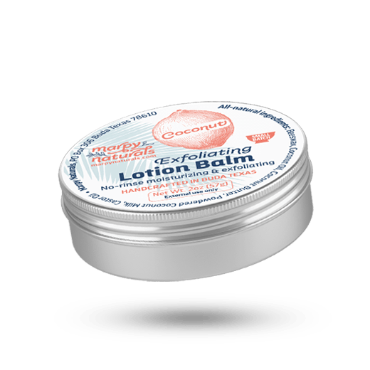 Coconut Exfoliating Lotion Balm image
