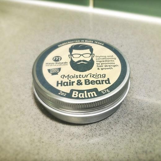 Moisturizing Hair and Beard Balm