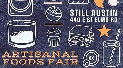 Artisanal Foods Fair graphic