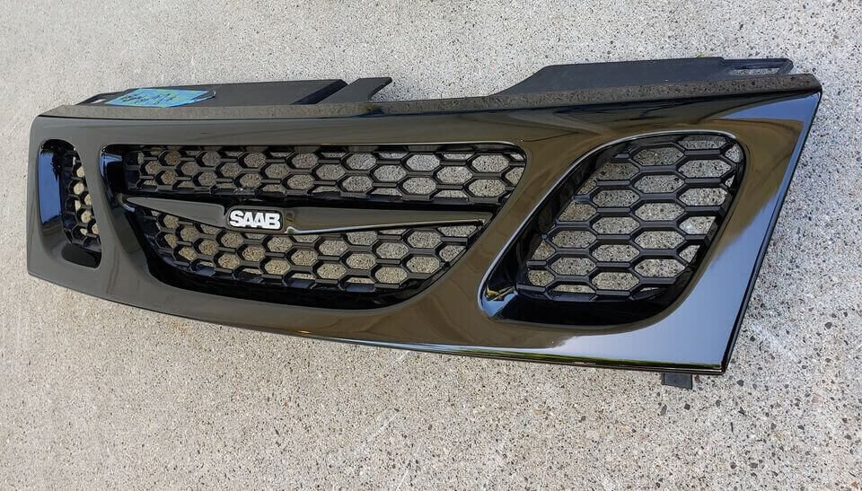 Black Front Bumper with Black Honeycomb Grill