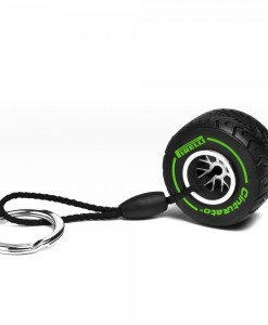 portachiavi pirelli gomma verde