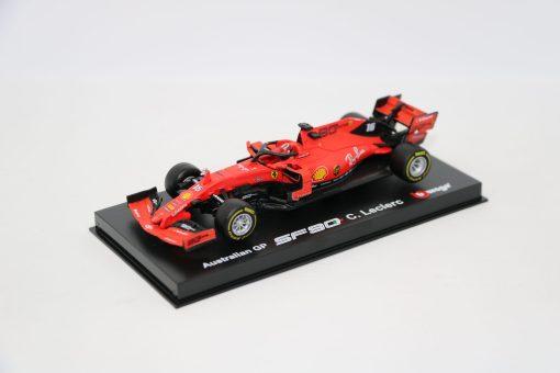 Bburago Signature Ferrari Charles Leclerc F1 SF90 Die cast 143 2019 scaled