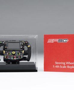 FERRARI SF90 STEERING WHEEL 1 4 SCALE 7 scaled