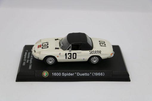 Alfa Romeo 143 1600 Spider Duetto 1966 Gran Premio del Mugello scaled