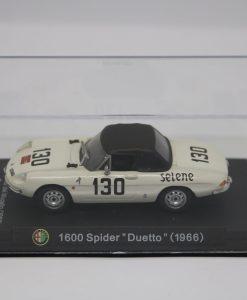 Alfa Romeo 143 1600 Spider Duetto 1966 Gran Premio del Mugello 3 scaled