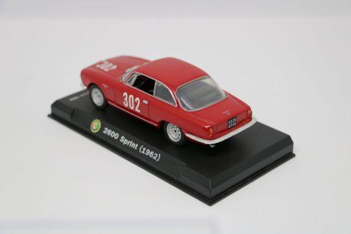 Alfa Romeo 143 2600 Sprint 1962 Bologna Passo della Raticosa 1968 2 scaled