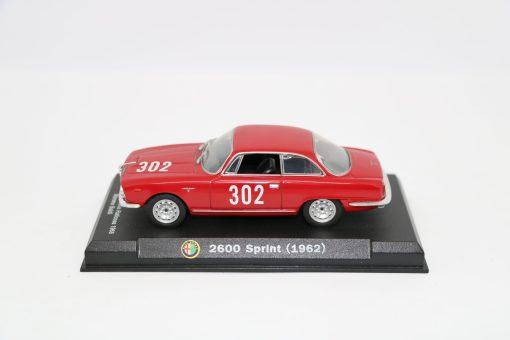 Alfa Romeo 143 2600 Sprint 1962 Bologna Passo della Raticosa 1968 scaled