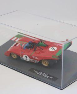 Altaya 143 Ferrari 312 P 1000km Spa Francorchamps 1972 A. Merzario 2 scaled